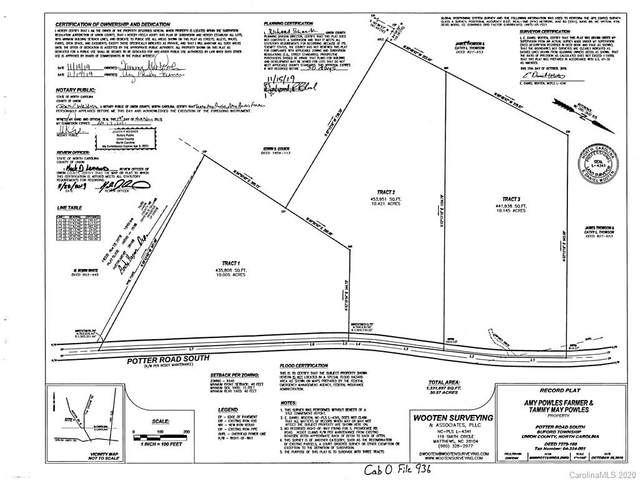 0000 Potter Road, Waxhaw, NC 28173 (#3592700) :: Mossy Oak Properties Land and Luxury