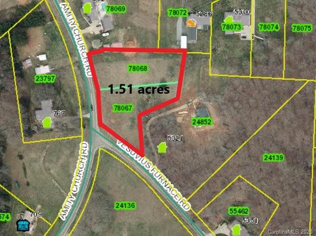 1.51 acres Amity Church Road 2 & 3, Iron Station, NC 28080 (#3595162) :: Keller Williams Biltmore Village