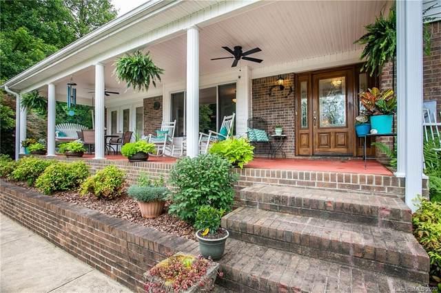 575 Hawkins Farm Road, Pisgah Forest, NC 28768 (#3597184) :: Exit Realty Vistas