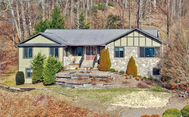 1227 Rocky Knob Road, Waynesville, NC 28786 (#3600002) :: Keller Williams Professionals