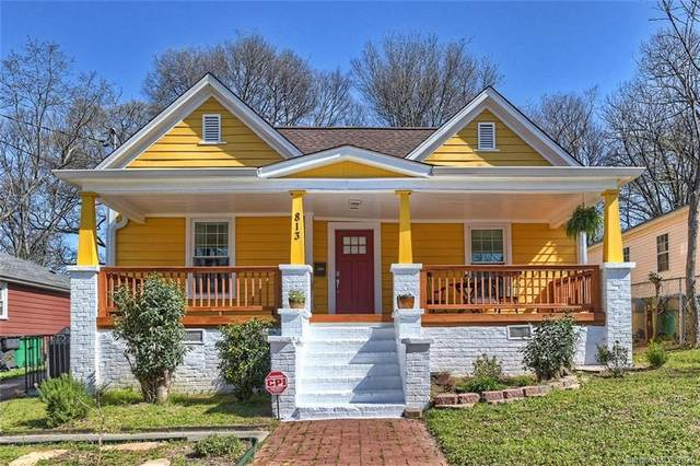 813 E 17th Street, Charlotte, NC 28205 (#3602252) :: Keller Williams South Park