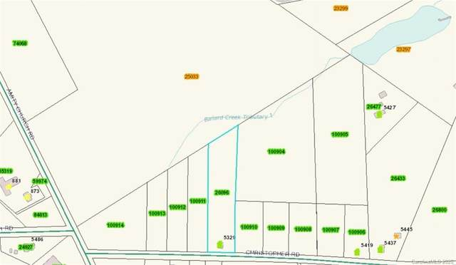 Lot 8 Christopher Road #8, Iron Station, NC 28080 (#3605839) :: Roby Realty