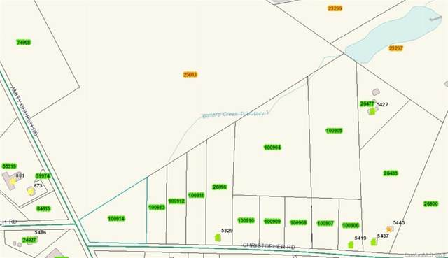Lot 12 Christopher Road #12, Iron Station, NC 28080 (#3605842) :: Roby Realty