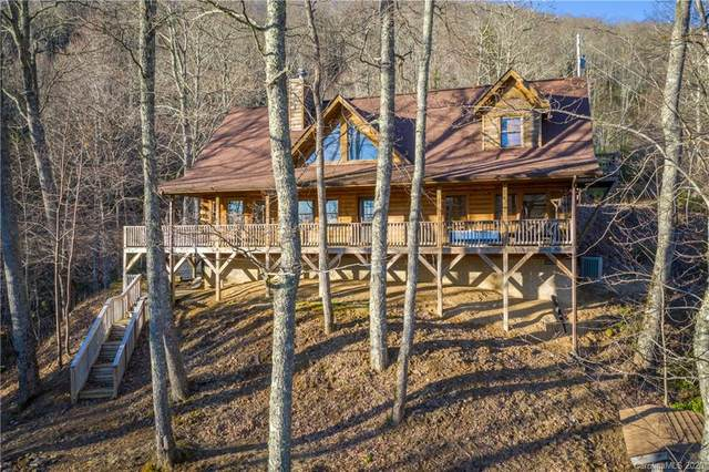 111 Grandpa Lane, Maggie Valley, NC 28751 (#3605940) :: Mossy Oak Properties Land and Luxury