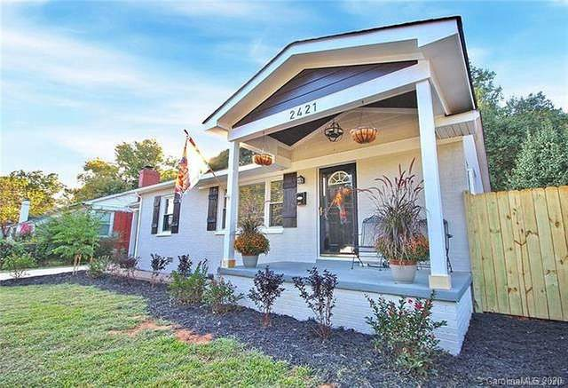 2421 Shamrock Drive, Charlotte, NC 28205 (#3607638) :: Homes Charlotte