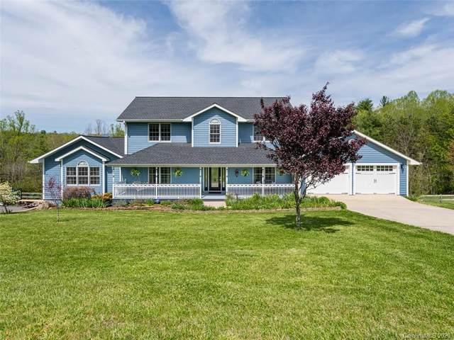 7 Forest Ridge Drive, Weaverville, NC 28787 (#3614325) :: Carver Pressley, REALTORS®