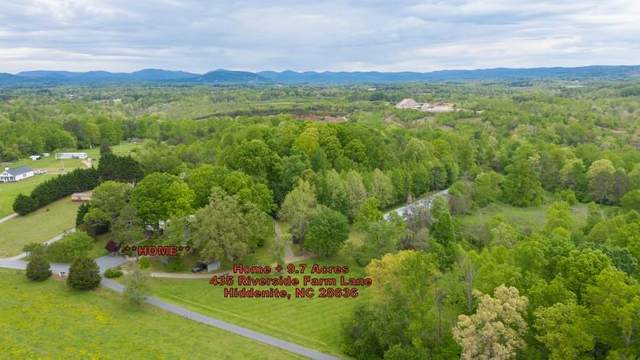 435 Riverside Farm Lane, Hiddenite, NC 28636 (#3616376) :: Rinehart Realty