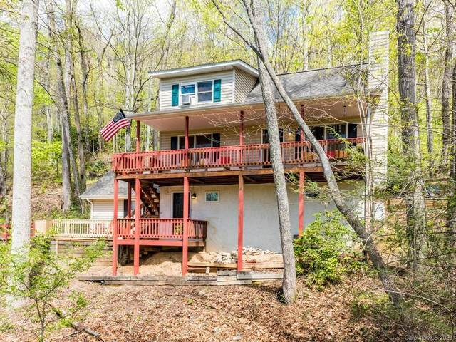 180 Rebel Ridge Road, Maggie Valley, NC 28716 (#3617439) :: MartinGroup Properties