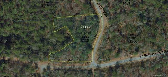 0 Boulder Crossing #11, Cedar Mountain, NC 28718 (#3622256) :: The Mitchell Team