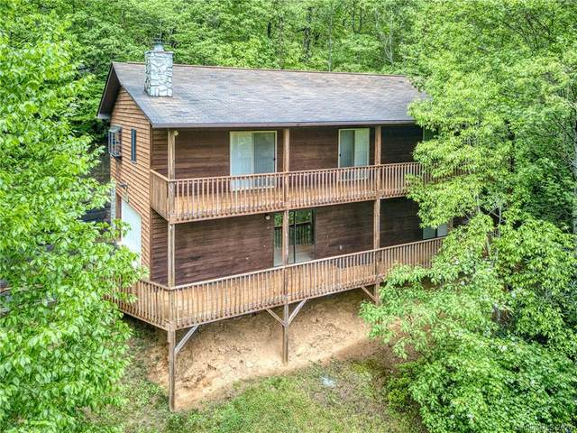 120 Mountain Crest Drive, Maggie Valley, NC 28751 (#3624697) :: Keller Williams South Park