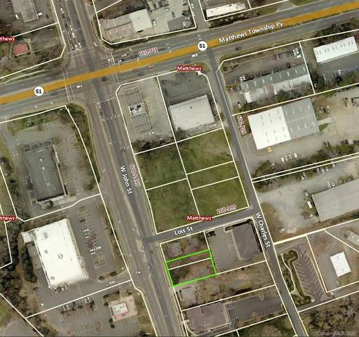 VAC W John Street, Matthews, NC 28105 (#3625156) :: Miller Realty Group