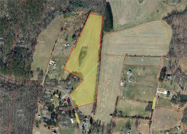 Vac (11.39ac) Pennington Road, Albemarle, NC 28001 (#3626347) :: Zanthia Hastings Team