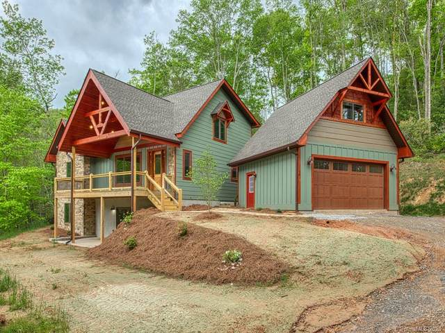 58 Flagstone Ridge, Waynesville, NC 28786 (#3626667) :: High Performance Real Estate Advisors