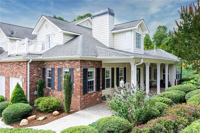 603 Carriage Commons Drive, Hendersonville, NC 28791 (#3632872) :: Carlyle Properties