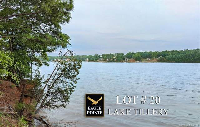 Lot #20 Eagle Pointe Drive #20, Norwood, NC 28128 (#3637470) :: Robert Greene Real Estate, Inc.