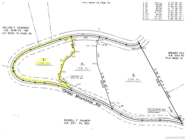 Lot 1 Cedar Mountain Road, Asheville, NC 28803 (MLS #3639705) :: RE/MAX Journey