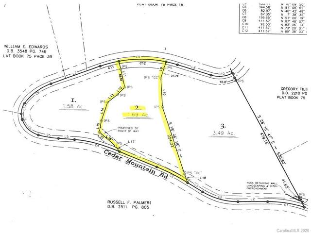 Lot 2 Cedar Mountain Road, Asheville, NC 28803 (MLS #3639727) :: RE/MAX Journey