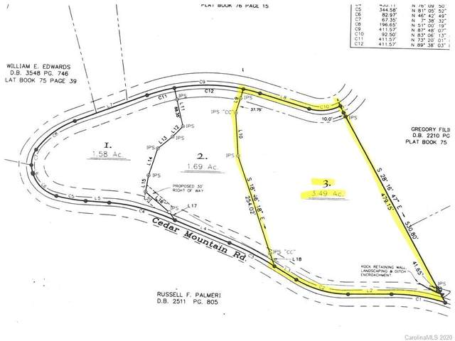 Lot 3 Cedar Mountain Road, Asheville, NC 28803 (MLS #3639737) :: RE/MAX Journey