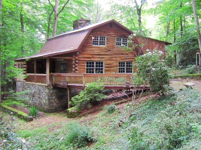 27 Cabin Lane, Maggie Valley, NC 28751 (#3640548) :: Ann Rudd Group