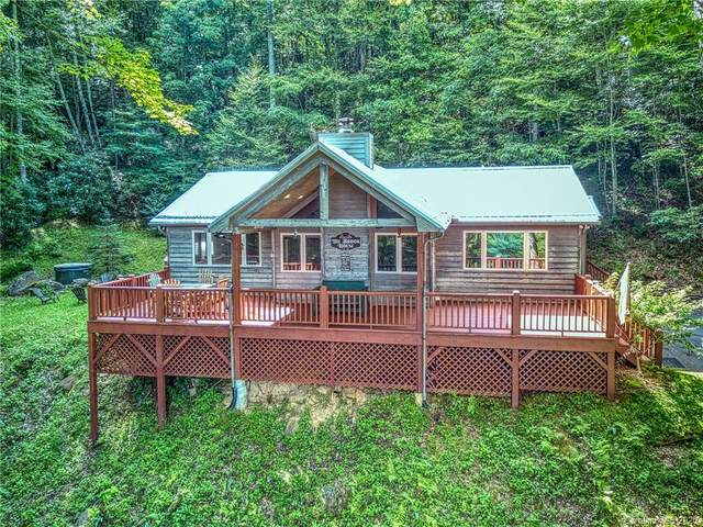95 Sound Vista Lane, Maggie Valley, NC 28751 (#3640804) :: Carlyle Properties