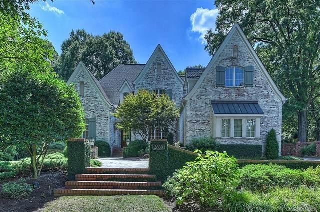 2600 Tanglewood Lane, Charlotte, NC 28211 (#3645379) :: Homes Charlotte