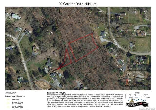 00 Greater Druid Hills Boulevard, Hendersonville, NC 28791 (#3645698) :: Rinehart Realty