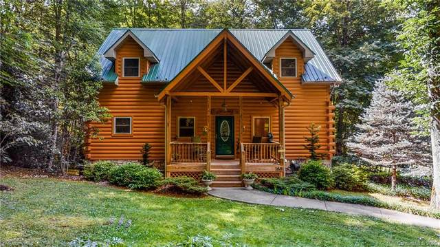 168 Jonathan Trail, Maggie Valley, NC 28751 (#3647307) :: Carver Pressley, REALTORS®