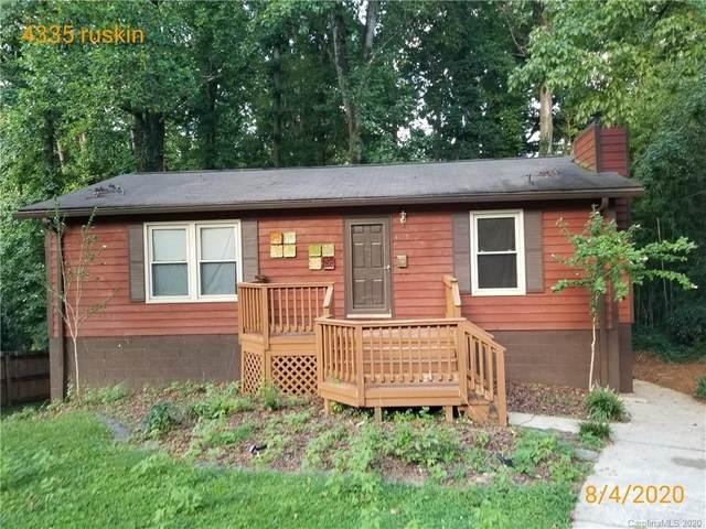 4335 Ruskin Drive, Charlotte, NC 28209 (#3648459) :: Carolina Real Estate Experts