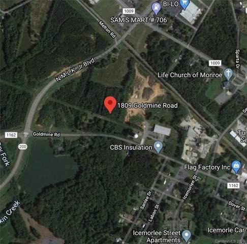 1809 Goldmine Road, Monroe, NC 28110 (#3651927) :: Rinehart Realty
