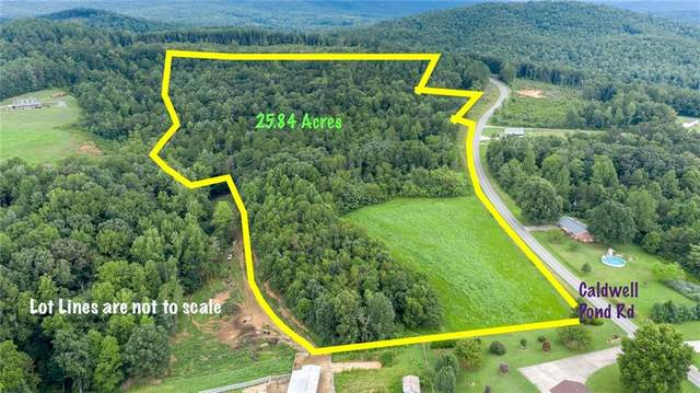 0 Caldwell Pond Road, Taylorsville, NC 28681 (#3652010) :: Premier Realty NC
