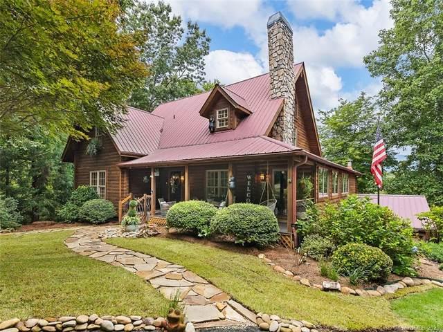 281 Canoe Drive, Mill Spring, NC 28756 (#3654095) :: Homes Charlotte