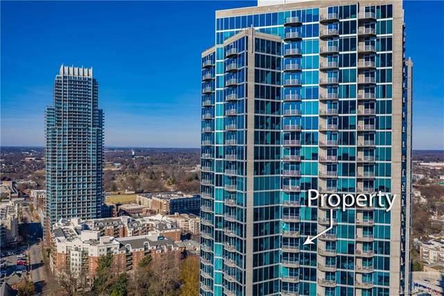 210 Church Street N #2103, Charlotte, NC 28202 (#3658702) :: Johnson Property Group - Keller Williams
