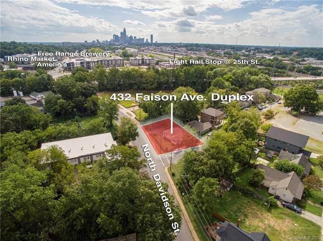 432 Faison Avenue, Charlotte, NC 28205 (#3659914) :: Premier Realty NC