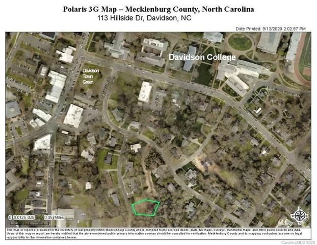 113 Hillside Drive, Davidson, NC 28036 (#3662048) :: Carolina Real Estate Experts