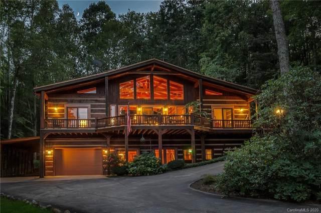 58 Lake Point Drive, Pisgah Forest, NC 28768 (#3665411) :: Rinehart Realty