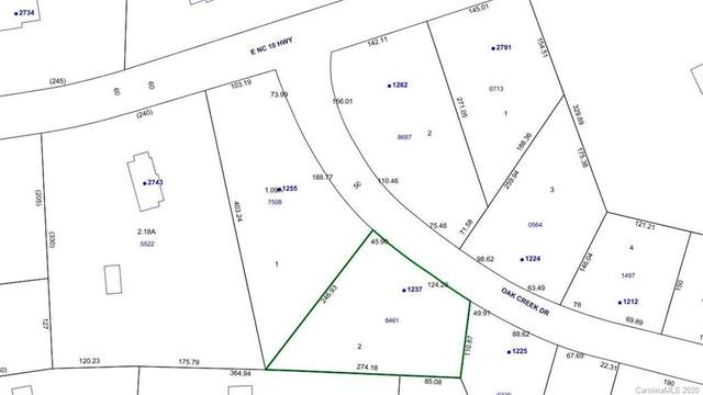 1255 & 1237 Oak Creek Drive 1A & 2A, Conover, NC 28613 (#3671647) :: Robert Greene Real Estate, Inc.