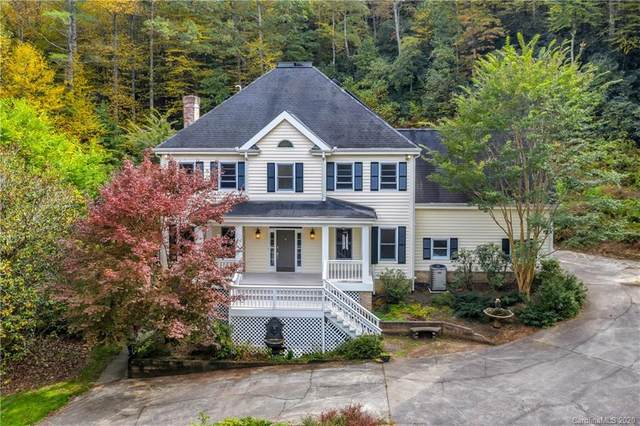 649 Cherrywood Lane, Pisgah Forest, NC 28768 (#3671652) :: MartinGroup Properties