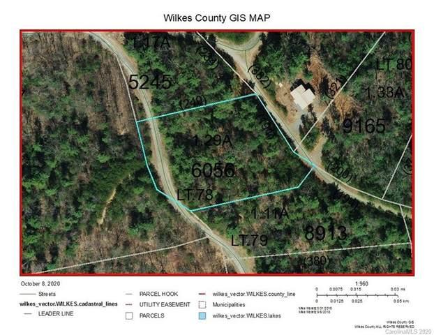 Lot 78 Deer Antler Drive #78, Purlear, NC 28665 (#3672538) :: Exit Realty Vistas