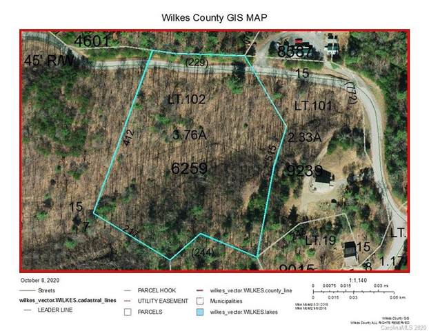 Lot 102 Staghorn Road #102, Purlear, NC 28665 (#3672541) :: Exit Realty Vistas
