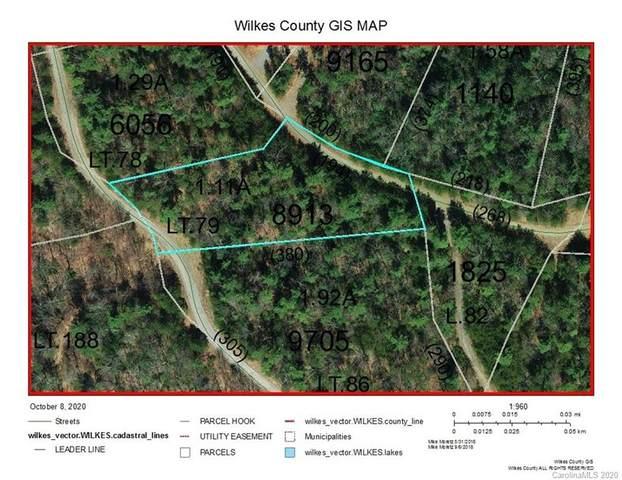 Lot 79 Deer Antler Drive #79, Purlear, NC 28665 (#3672548) :: Exit Realty Vistas