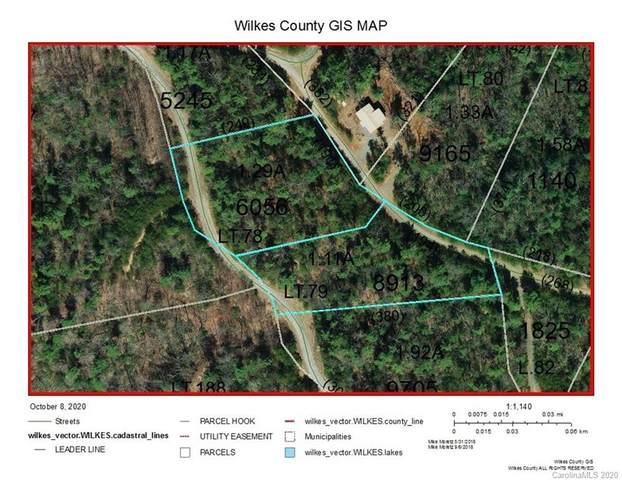 Lot 78 & 79 Deer Antler Drive 78 & 79, Purlear, NC 28665 (#3672554) :: Exit Realty Vistas