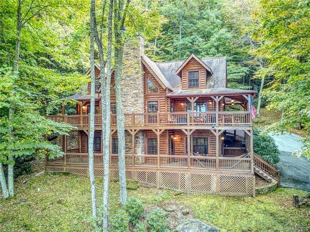 6 Kanusati Trail, Maggie Valley, NC 28751 (#3673853) :: Robert Greene Real Estate, Inc.