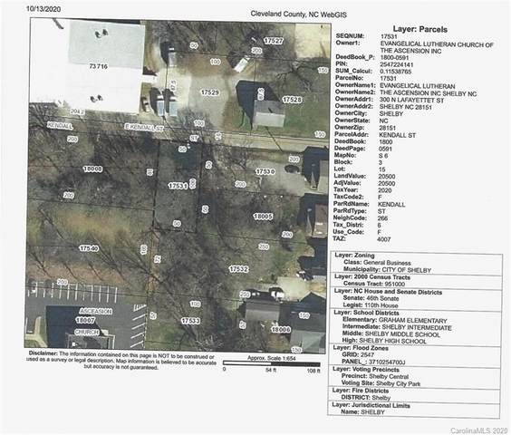 00 Kendall Street, Shelby, NC 28150 (#3676080) :: Mossy Oak Properties Land and Luxury