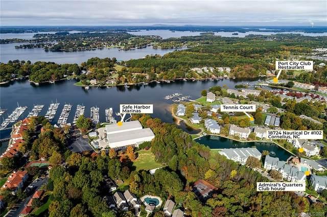 18742 Nautical Drive #102, Cornelius, NC 28031 (#3677038) :: Stephen Cooley Real Estate Group