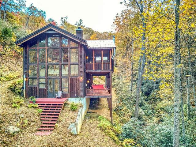 795/799 Harleys Cove Road, Waynesville, NC 28785 (#3678174) :: Home and Key Realty