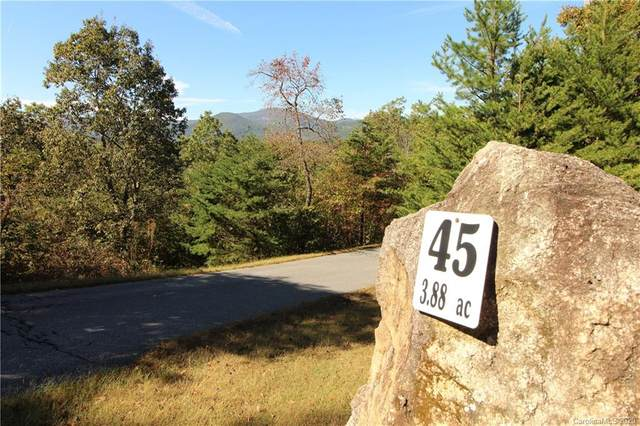 0 Boulder Ridge #45, Lake Lure, NC 28746 (#3678321) :: MartinGroup Properties