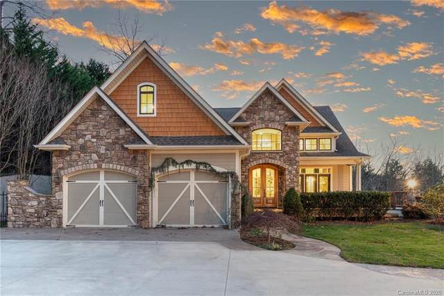 155 Hounds Chase Drive, Hendersonville, NC 28791 (#3685414) :: Johnson Property Group - Keller Williams
