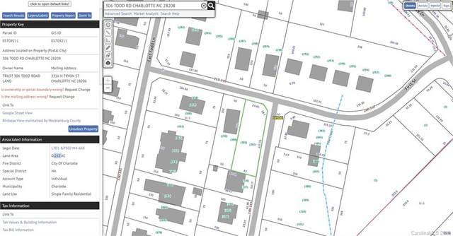 306 Todd Road, Charlotte, NC 28208 (#3686041) :: Johnson Property Group - Keller Williams
