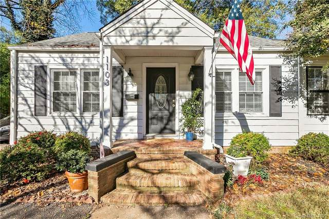 1103 Briar Creek Road, Charlotte, NC 28205 (#3686195) :: Carver Pressley, REALTORS®