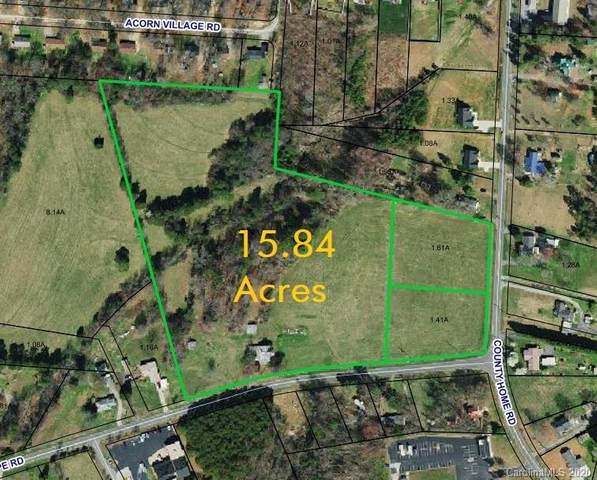 15.84 Acres County Home Road, Conover, NC 28613 (#3687430) :: Rhonda Wood Realty Group